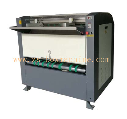 <b>ZS-1200</b> Semiautomatic Paperboard Grooving Machine