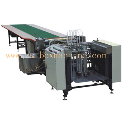 <b>ZS-650A/850A</b> Automatic Paper Feeding & Gluing Machine