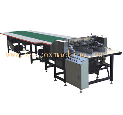<b>ZS-650B/850B</b> Automatic Paper Feeding & Gluing Machine(Roller Feeding)